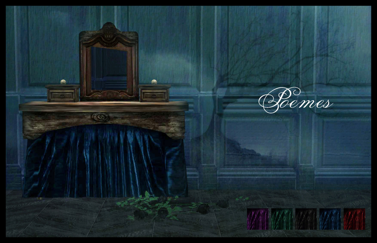Poemes Vanity Table TS2 to TS4 Conversion by BrialImmortelle