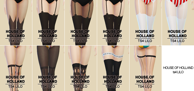 House Of Holland Tights Set by Lilosims