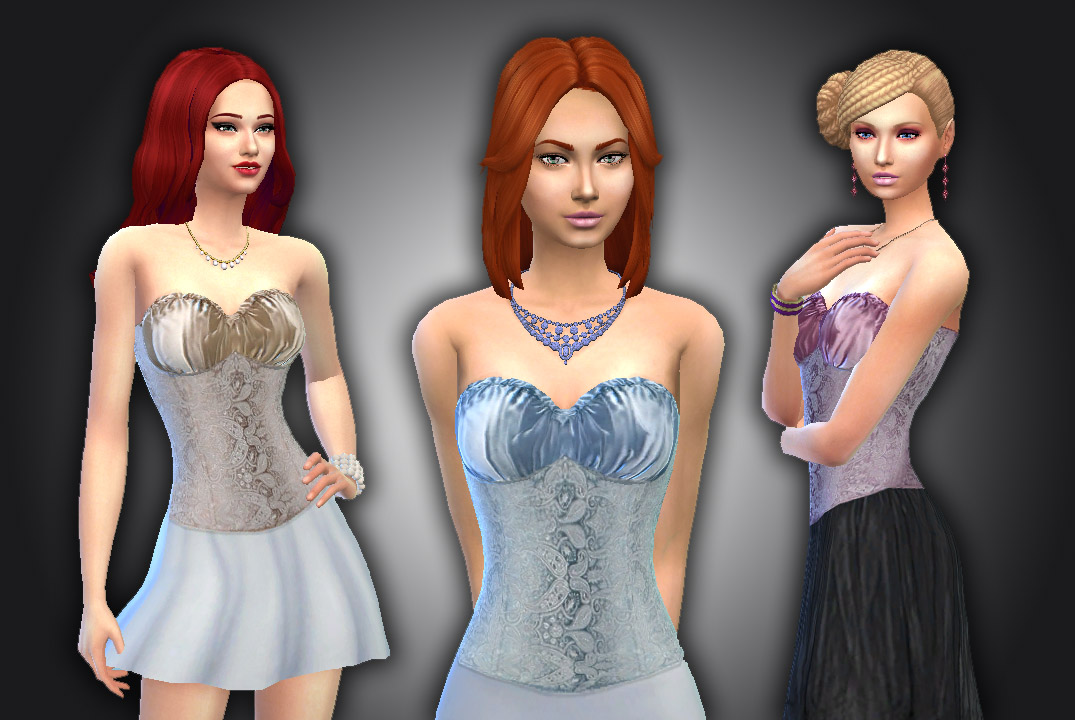 Fashion Corset for Teen - Elder Females by Kiara24