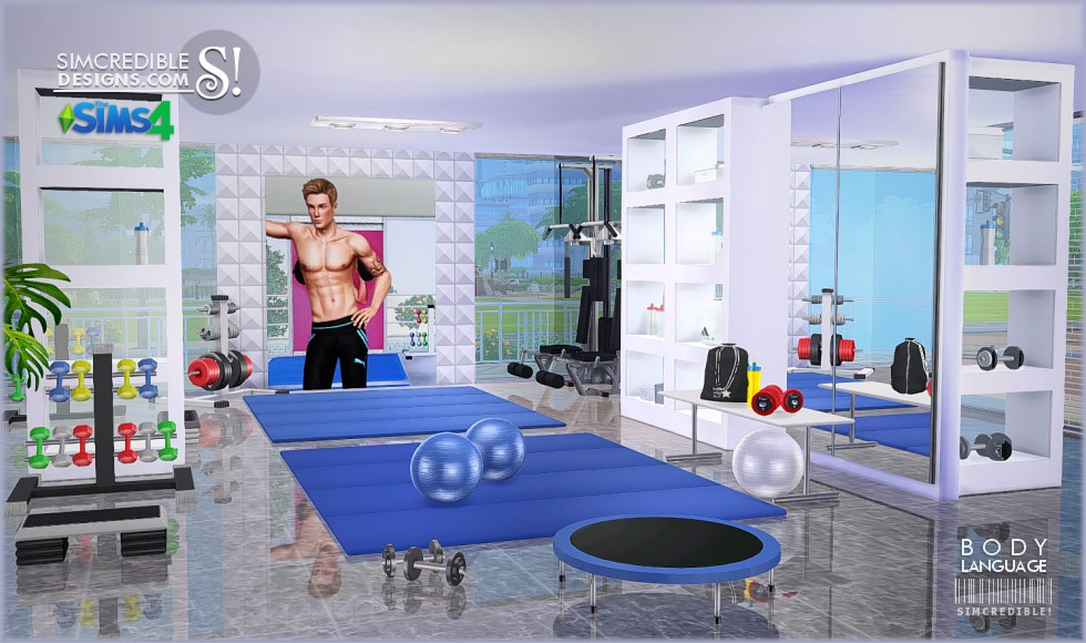 Body Language Gym Set by Simcredible Designs