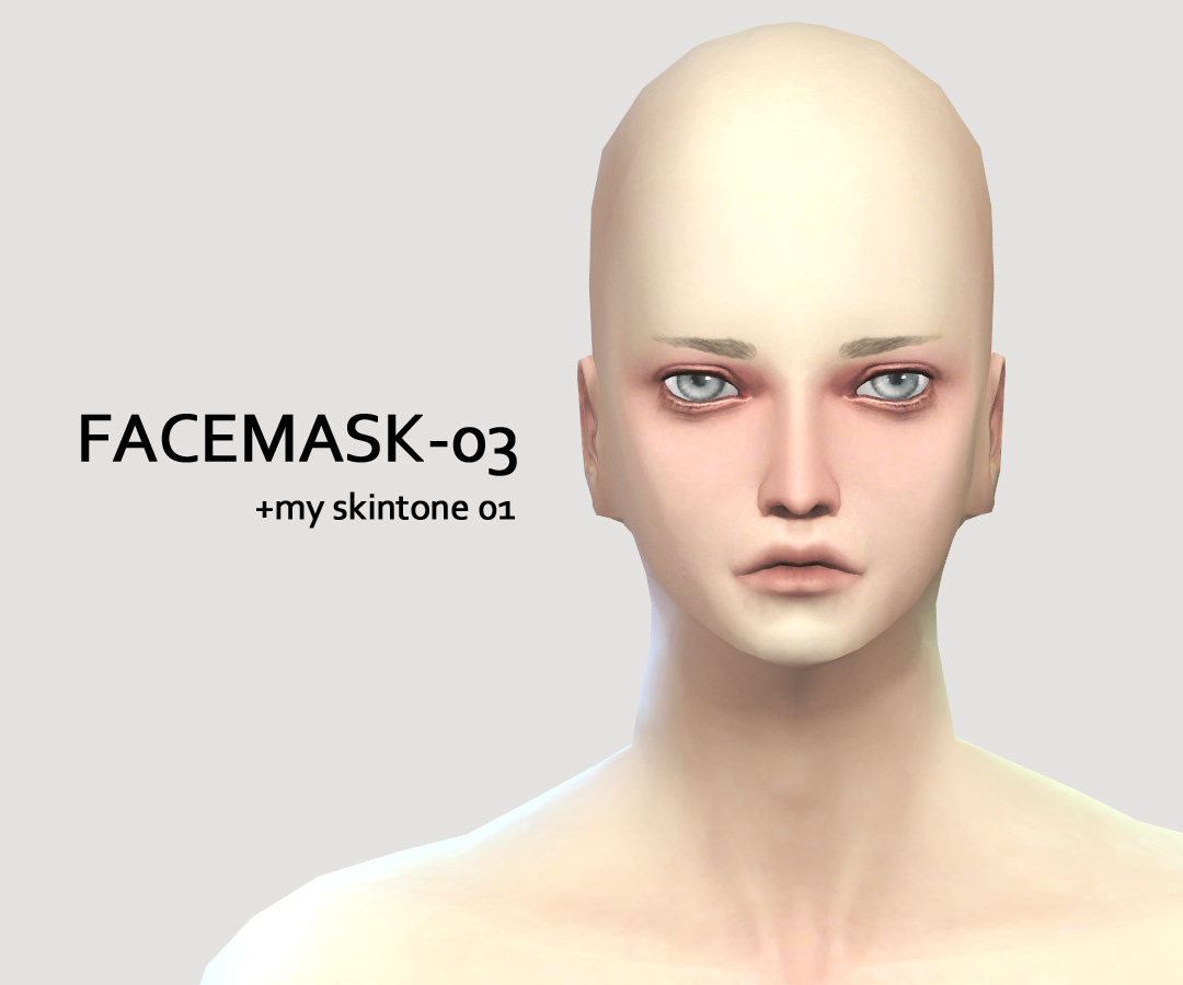 SkinDetail/FACEMASK 0203 by imadako