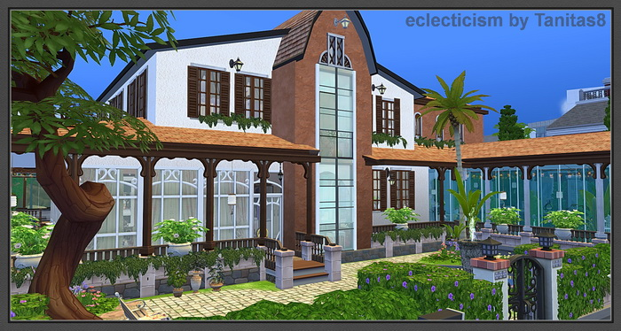 Eclecticism House by Tanitas8
