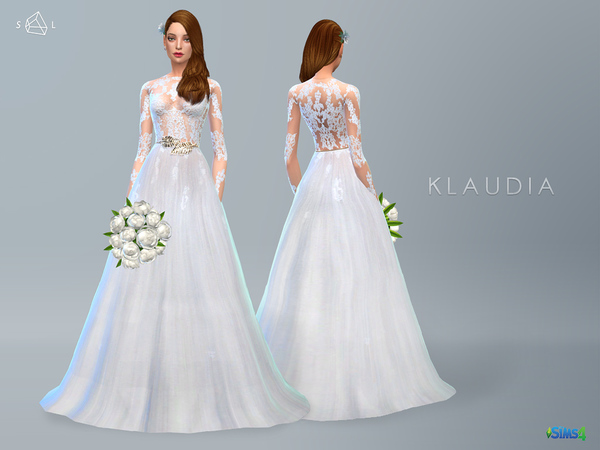 Lace Wedding Dress KLAUDIA by starlord