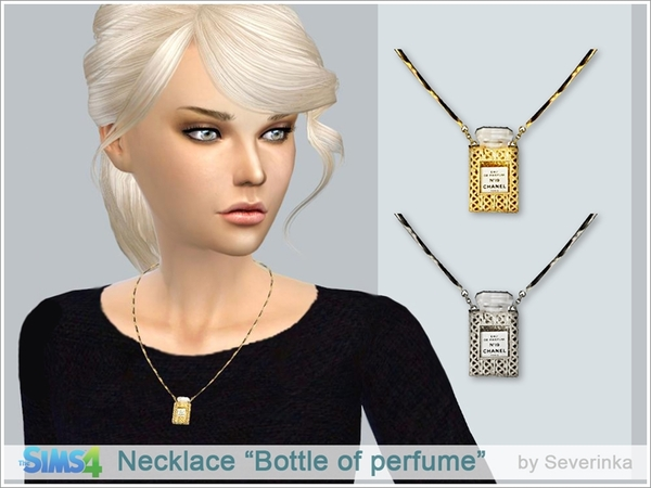 Necklace Bottle of perfume by Severinka