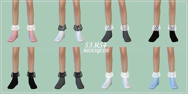 Child lace socks by Marigold