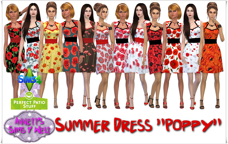 "Perfect Pation Stuff - Summer Dresses ""Poppy"" by Annett85"