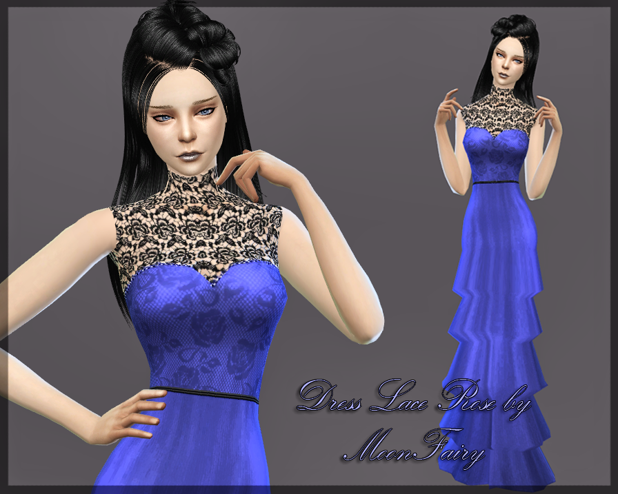 Rose Lace Dress by MoonFairy