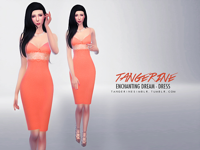 Enchanting Dream - Dress by Tangerine