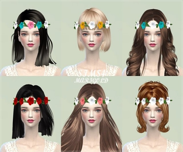 Rose crown by Marigold