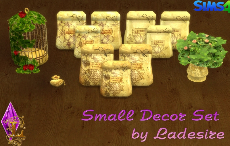 Small Decor Set by Ladesire