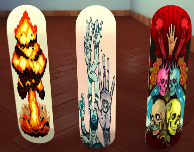Skateboard shape by zzzsick