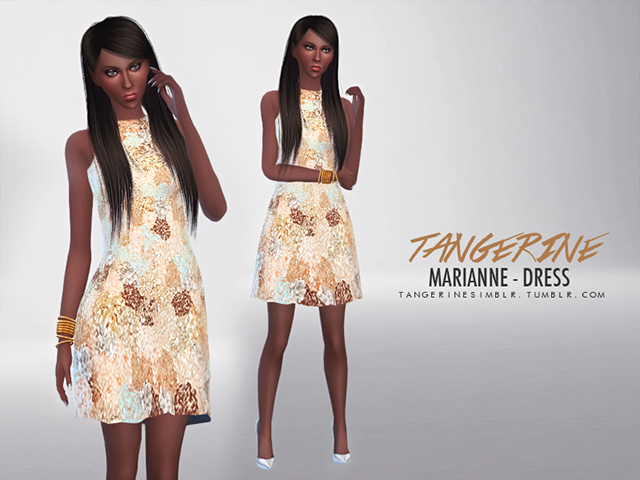 Marianne Dress by Tangerine