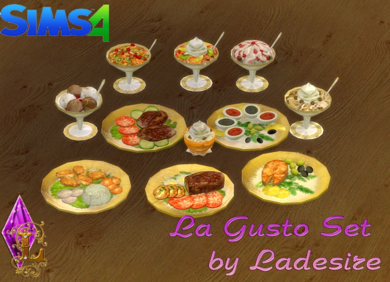 La Gusto Set by Ladesire