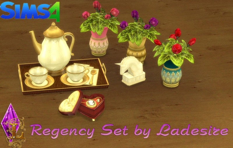 Regency Set by Ladesire