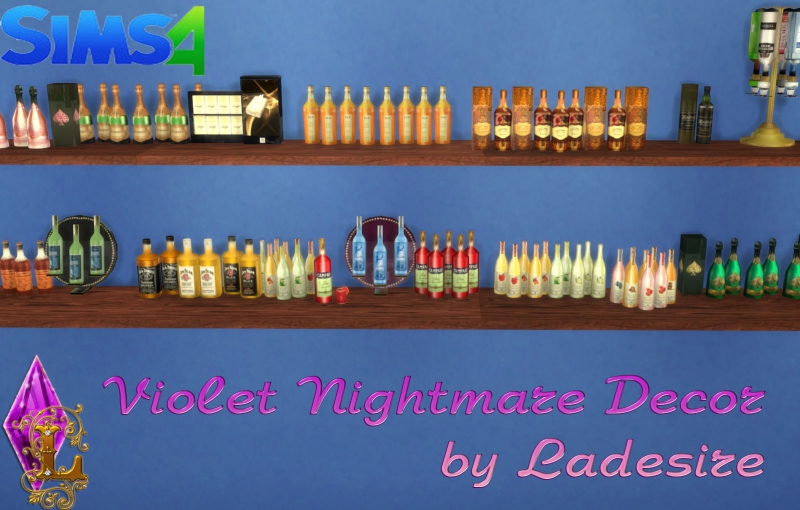 Violet Nightmare Set by Ladesire (157 items)
