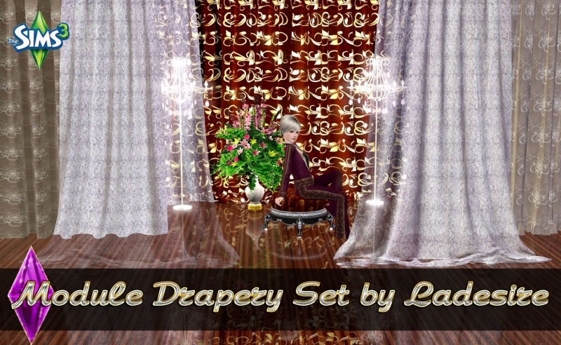 Module Drapery Set by Ladesire