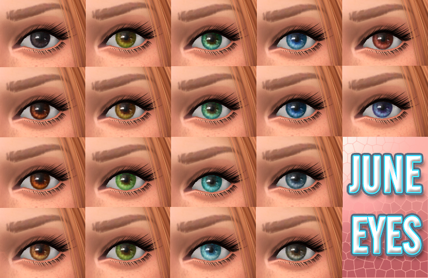 """June"" - Default Replacement Eyes by kellyhb5"