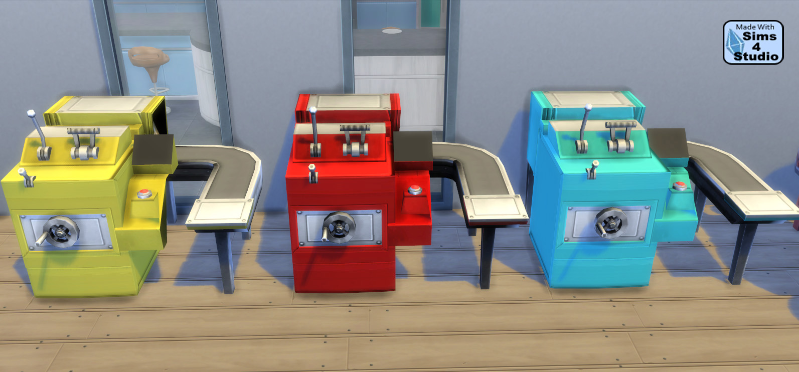 Smaller Cupcake Machine by Esmeralda