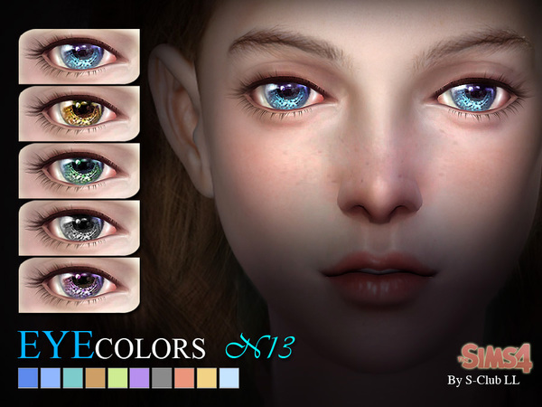 S-Club LL thesims4 eyecolors 13