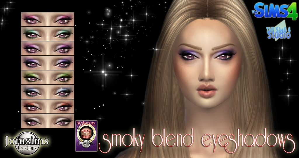 Smoky blend eyeshadow by Jomsims