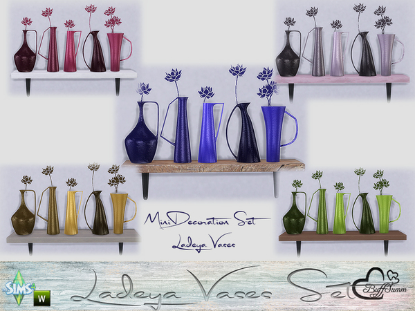 Ladeya Vases Miniset by BuffSumm