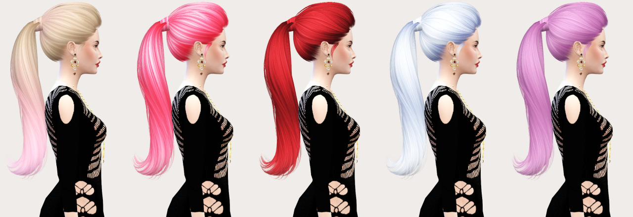 Skysims 266 Hair Retexture by Salem2342