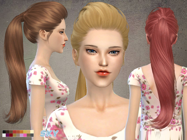 Skysims Hair 266-hell