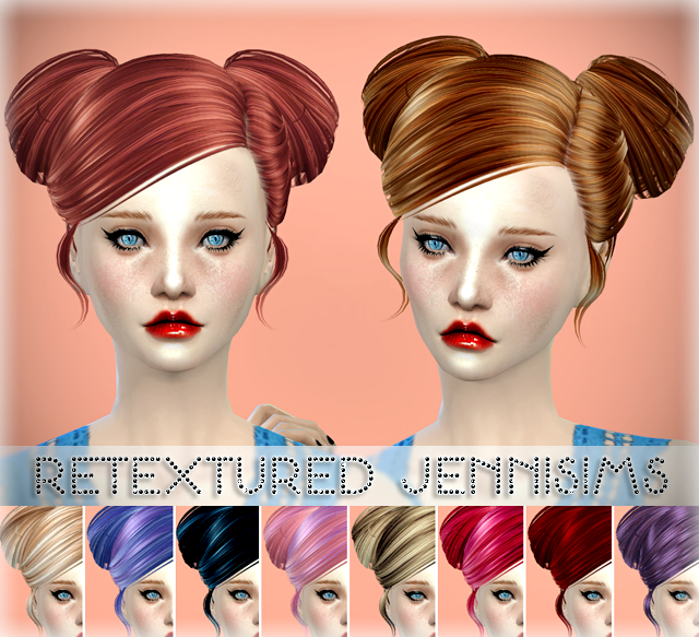 Butterflysims 078 Hair by Jennifer