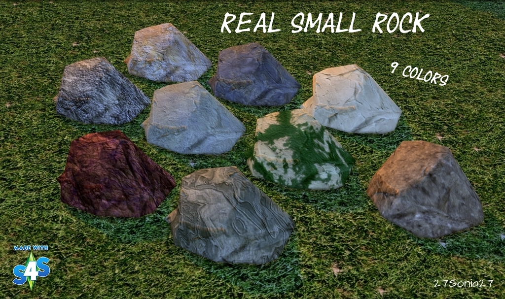 Realistic Small Rocks by Sonia