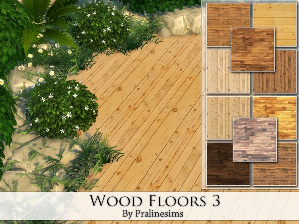 Wood Floors 3 by Pralinesims