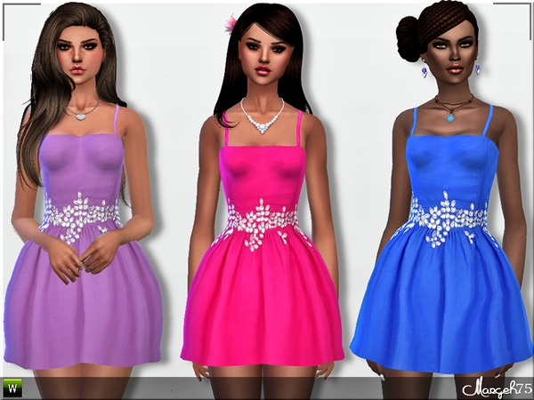 S4 Nia Diamante Dress by Margeh-75