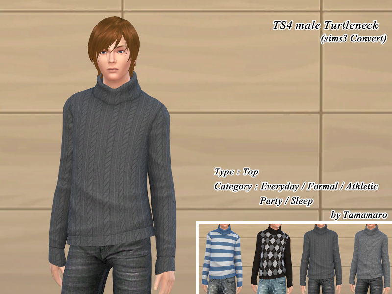 Turtleneck for Males by Tamamaro