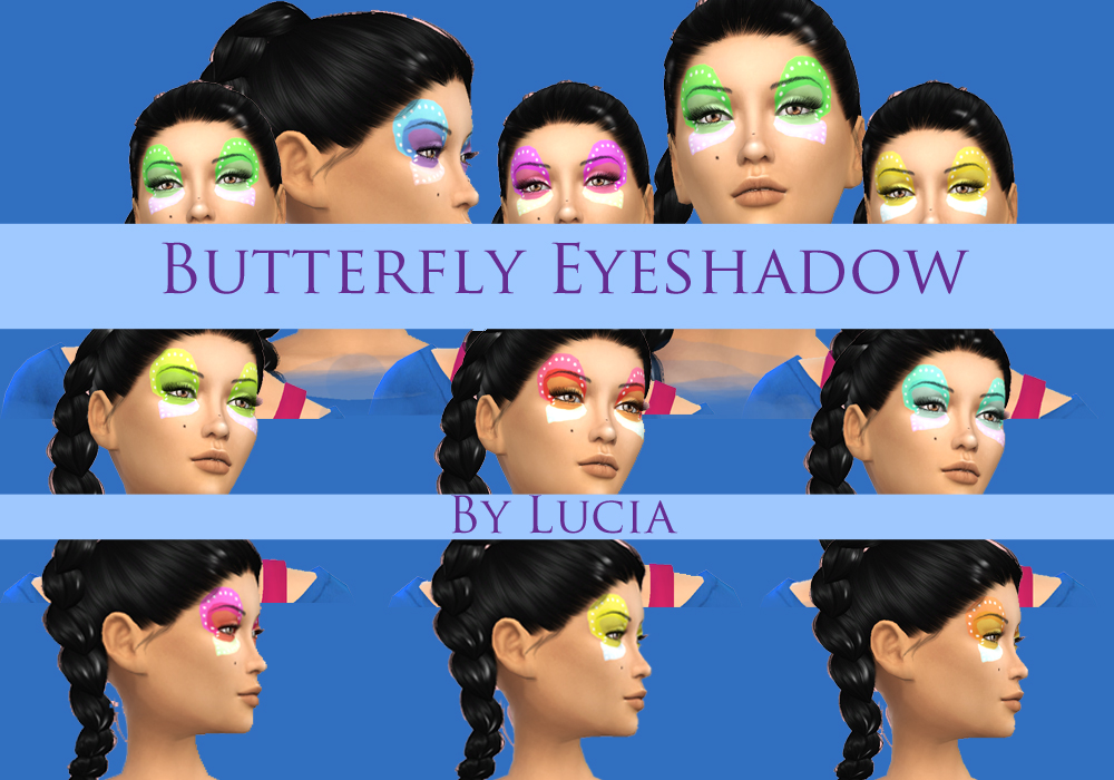 Butterfly Eye Shadow by Lucia