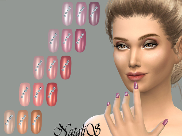NataliS_TS4_Nails with crystals FT- FE