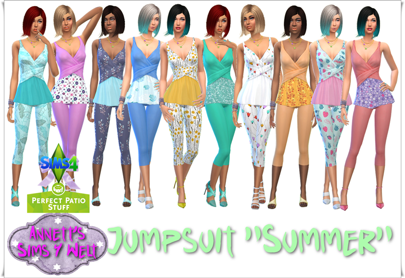 PPS Jumpsuit Recolors by Annett85