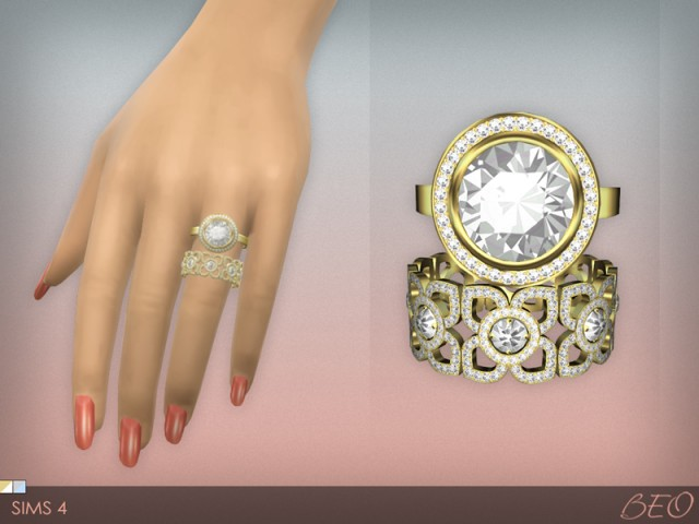 Diamond Rings by BEO