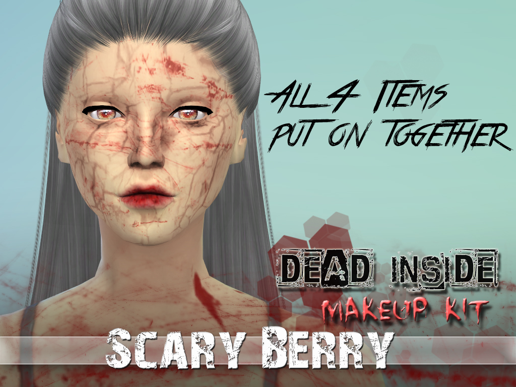 Dead Inside Makeup Kit by ScaryBerry