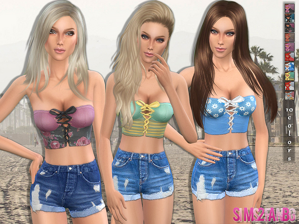 52 - Everyday Corset Top by sims2fanbg