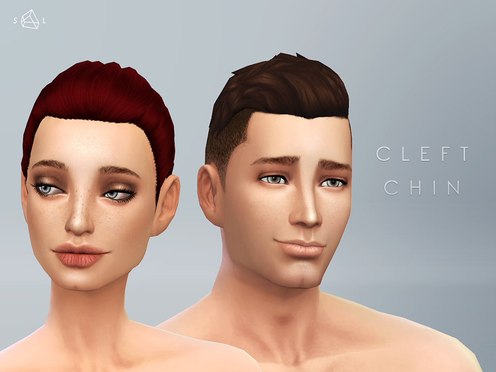 Cleft Chin (face overlay compatible) by starlord