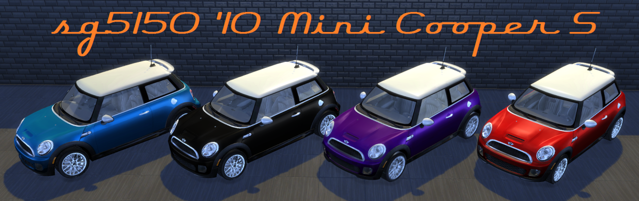 TS3 Fresh-Prince Mini Cooper S Conversion by sg5150