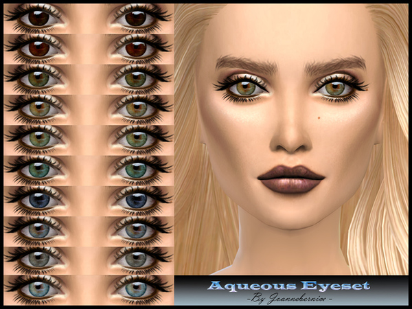 Aqueous Eyeset by joannebernice