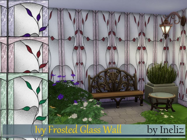 Ivy Frosted Glass Wall by Ineliz