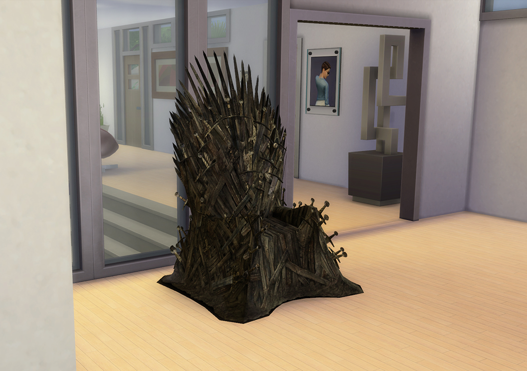 The Iron Throne - Sims 4 Edition by LOolyharb1