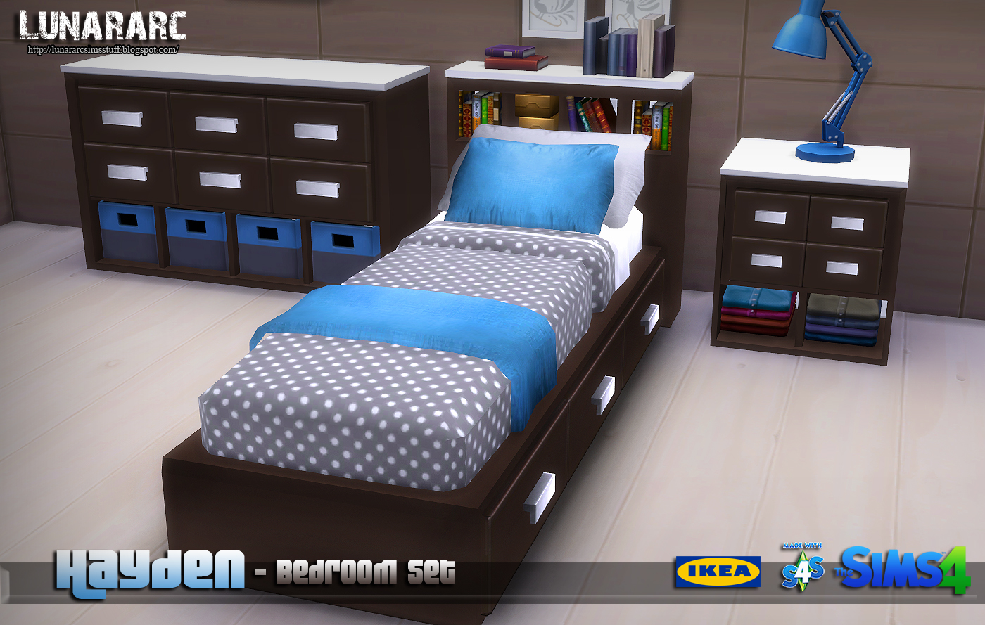 Hayden Bedroom Set by Lunararc