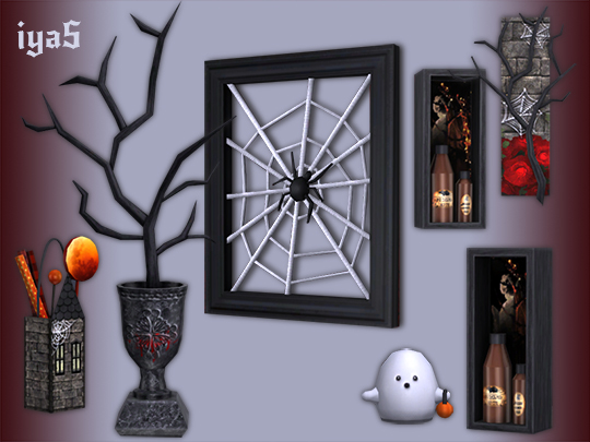 Gothic Decor Set by Soloriya