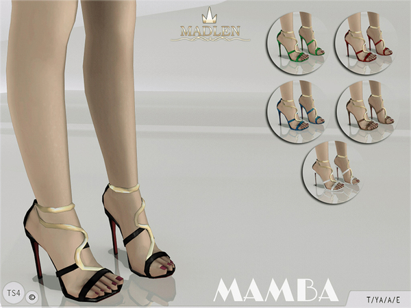 Madlen Mamba Sandals by MJ95