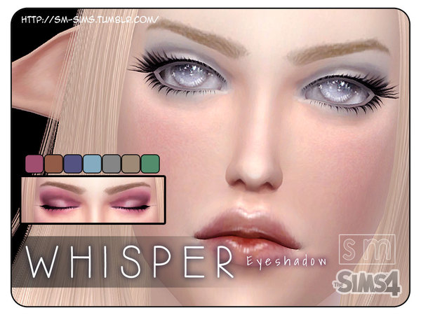 [ Whisper ] - Light Eyeshadow by Screaming Mustard