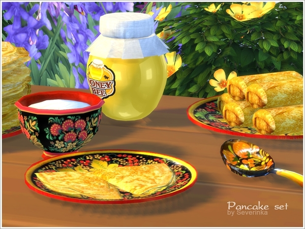 Pancake set by Severinka