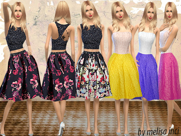Puffy Knee Dress by melisa inci