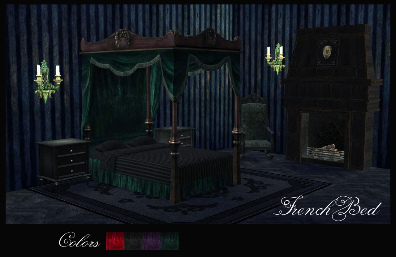 TS3 French Bed Conversion by BrialImmortelle